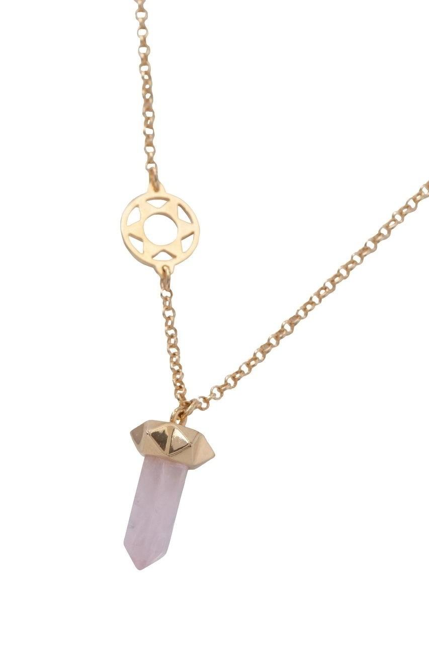 Chakra Coração - Pedra Quartzo Rosa